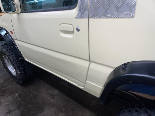 XC 4WD インタークーラーターボ リフトアップ 社外マフラー 社外シート ロールバー オーバーフェンダー 社外アルミ 社外ハンドル ETC 構造変更届出 普通車登録 追加メーター(36枚目)
