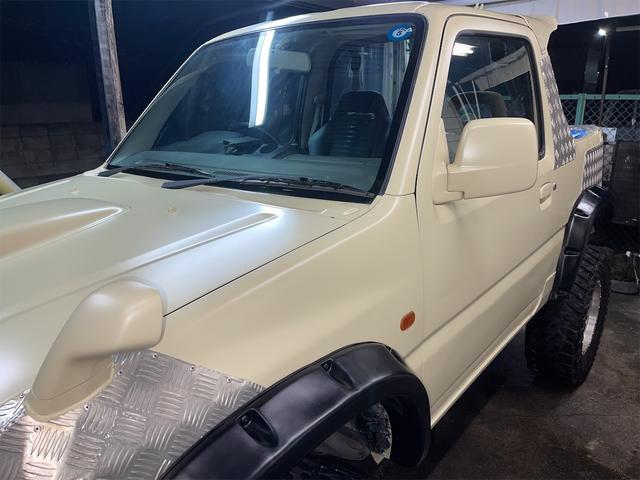 XC 4WD インタークーラーターボ リフトアップ 社外マフラー 社外シート ロールバー オーバーフェンダー 社外アルミ 社外ハンドル ETC 構造変更届出 普通車登録 追加メーター(42枚目)