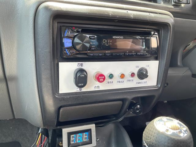 XC 4WD インタークーラーターボ リフトアップ 社外マフラー 社外シート ロールバー オーバーフェンダー 社外アルミ 社外ハンドル ETC 構造変更届出 普通車登録 追加メーター(59枚目)