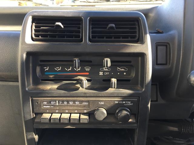 三菱 ミニキャブトラック マニュアル4速 ラジオ ワンオーナー 禁煙車