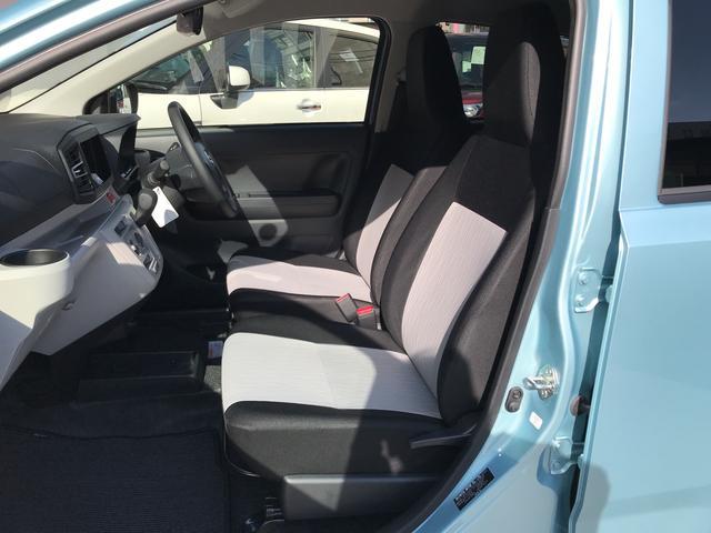 席の移動もしやすいフロントシートです