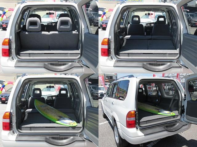 スズキ グランドエスクード ベースグレード ワンオーナー V6 社外オーディオ キーレス
