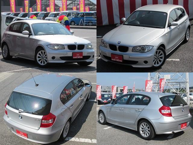 BMW BMW 116i HID 純正アルミ デュアル&サイドエアバック
