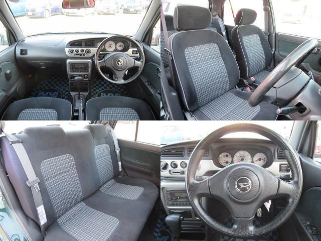 ホールド感のあるシート♪ロングドライブもおまかせ♪進化されたインパネ周りは、スタイリッシュかつ操作性や視認性にも優れ、飽きのこないデザインになっております!