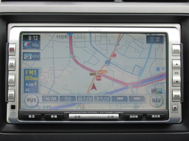 ホンダ ストリーム X HDDナビ ETC 社外アルミ キーレス 6ヵ月保証付