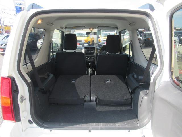 XC 4WD 5速MT 背面タイヤ 純正アルミ 純正CDデッキ キーレス 運転席&助手席エアバック ABS 衝突安全ボディー エアコン パワーウィンドー(56枚目)