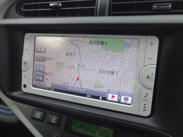S 純正ナビ ワンセグ バックカメラ LEDオートライト(4枚目)