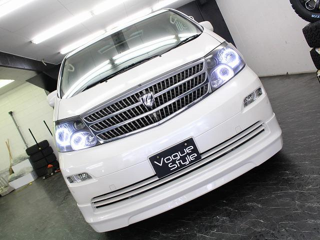 トヨタ アルファードV MZ-G両側電動ドア本革SR地デジHDD4連イカリングライト