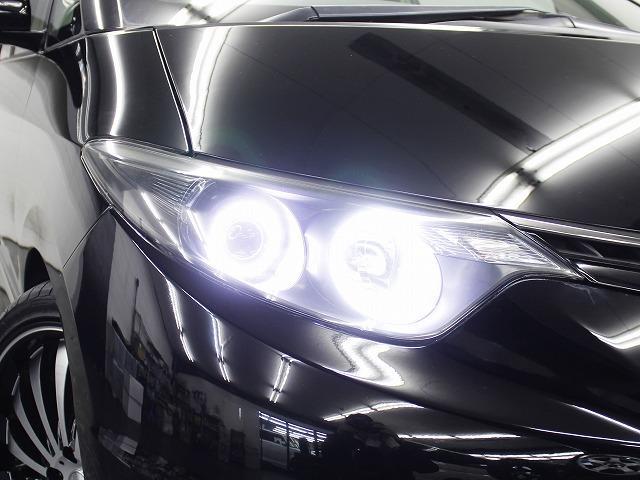 トヨタ エスティマ アエラス G-ED 両側電動S地デジHDD 4連イカリング