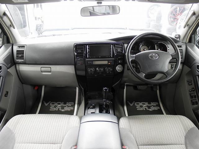 トヨタ ハイラックスサーフ SSR-Xリミテッド HDDナビ リフトUP バンパーガード