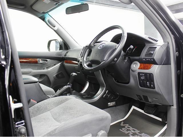 トヨタ ランドクルーザープラド TZ ナビ 新品アルミ 4連イカリングライト LEDテール
