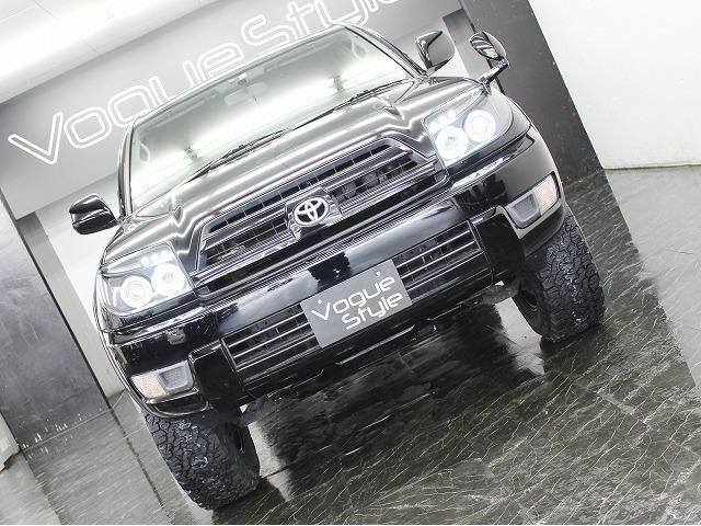 トヨタ ハイラックスサーフ SSR-X 地デジ 新品AWリフトアップ BLACKレザー