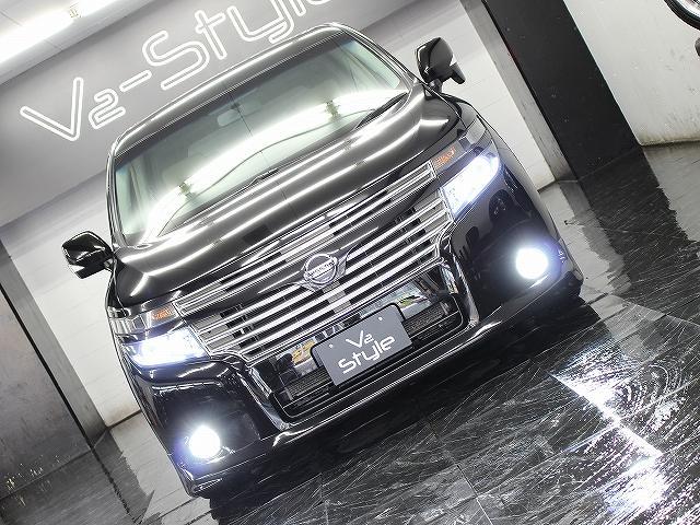 250XG 地デジ電動S 新品エアロ ファイバーLEDライト(5枚目)