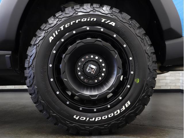 アドベンチャー 黒レザーシート リフトアップ 17インチ新品アルミ 新品TRDガーニッシュ KADDIS製オーバーフェンダー フォグLED(14枚目)