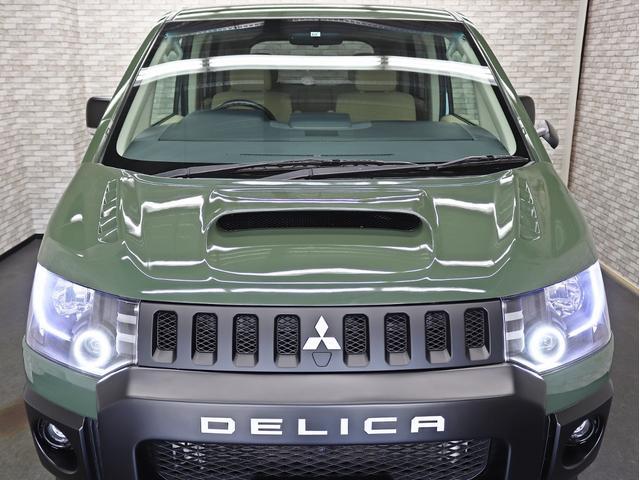 G パワーパッケージ 1オーナー 両側電動パワーS KADDISエアロボンネット 4インチリフトアップ JAOSオーバーフェンダー 16インチ新品アルミホイール LEDイカリングヘッドライト 8人乗り 4WD(10枚目)