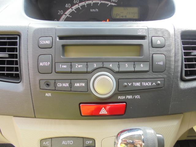 ダイハツ ムーヴ X キーフリー プッシュエンジンスタート 純正CDオーディオ