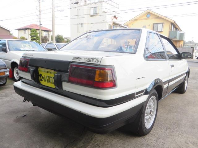 トヨタ スプリンタートレノ GTAPEX 後期型 OD付き4速ATフルノーマル イントラ