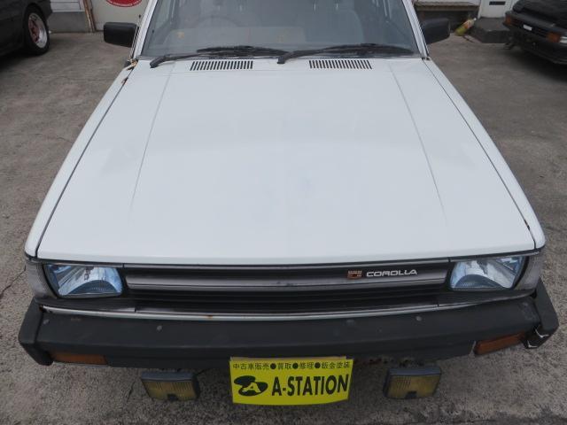 トヨタ カローラワゴン GL ローダウン 無事故車 4Kエンジン FR車5ナンバー