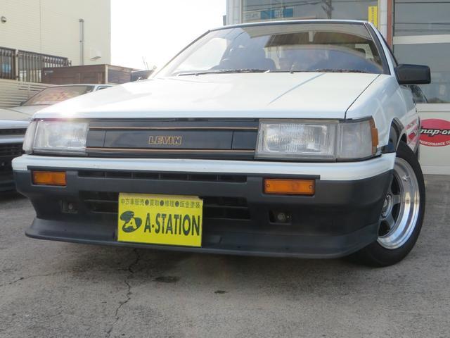GT APEX 無事故車 ブリッツ車高調 フジツボタコ足デュアルマフラー ボルクTE37V14インチAW クスココントロールアームラテラルロッドタワーバー 燃料タンクデスビダイナモセルTベル交換済み ノーマルルーフ(4枚目)
