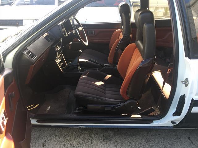 GT APEX 無事故車 ブリッツ車高調 フジツボタコ足デュアルマフラー ボルクTE37V14インチAW クスココントロールアームラテラルロッドタワーバー 燃料タンクデスビダイナモセルTベル交換済み ノーマルルーフ(10枚目)