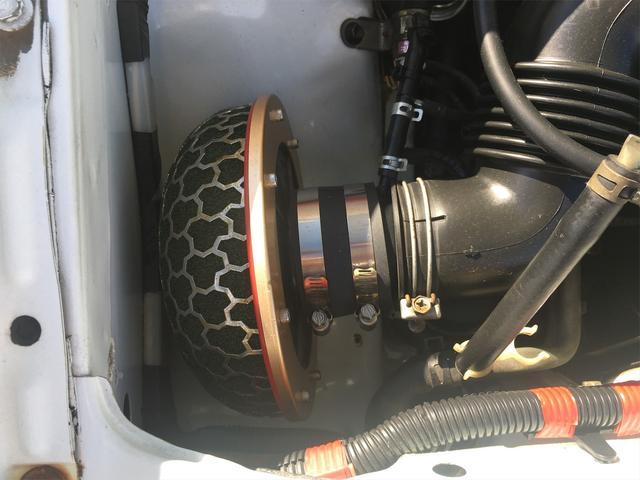 GT APEX 無事故車 ブリッツ車高調 フジツボタコ足デュアルマフラー ボルクTE37V14インチAW クスココントロールアームラテラルロッドタワーバー 燃料タンクデスビダイナモセルTベル交換済み ノーマルルーフ(24枚目)