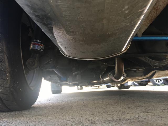 GT APEX 無事故車 ブリッツ車高調 フジツボタコ足デュアルマフラー ボルクTE37V14インチAW クスココントロールアームラテラルロッドタワーバー 燃料タンクデスビダイナモセルTベル交換済み ノーマルルーフ(49枚目)