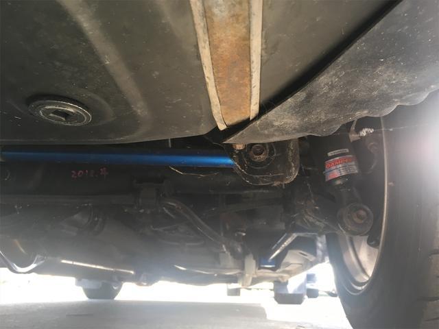 GT APEX 無事故車 ブリッツ車高調 フジツボタコ足デュアルマフラー ボルクTE37V14インチAW クスココントロールアームラテラルロッドタワーバー 燃料タンクデスビダイナモセルTベル交換済み ノーマルルーフ(51枚目)