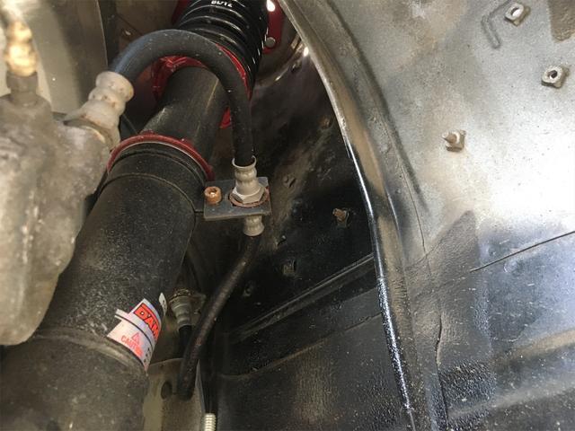 GT APEX 無事故車 ブリッツ車高調 フジツボタコ足デュアルマフラー ボルクTE37V14インチAW クスココントロールアームラテラルロッドタワーバー 燃料タンクデスビダイナモセルTベル交換済み ノーマルルーフ(56枚目)