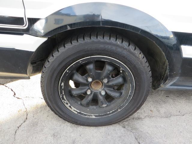 GT APEX R134レトロフィットエアコン  社外マフラー 社外アルミ ノーマルルーフ 内装付き(22枚目)