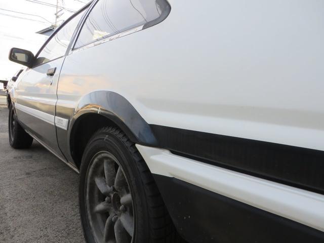 GT APEX R134レトロフィットエアコン  社外マフラー 社外アルミ ノーマルルーフ 内装付き(48枚目)