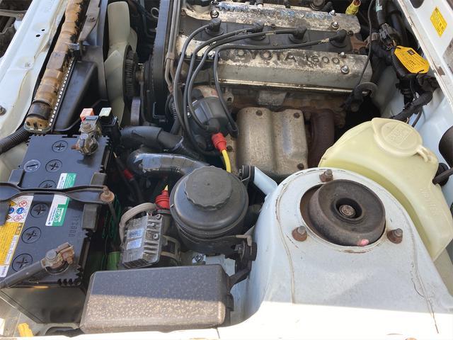 GT APEX R134レトロフィットエアコン  社外マフラー 社外アルミ ノーマルルーフ 内装付き(60枚目)
