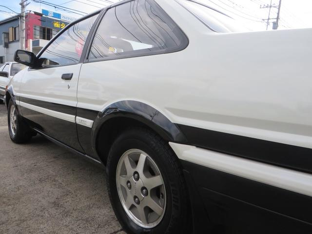 GT APEX 無事故車 記録簿 後期型 フジツボデュアルマフラー ノーマルサス 純正アルミ ノーマルルーフ(11枚目)