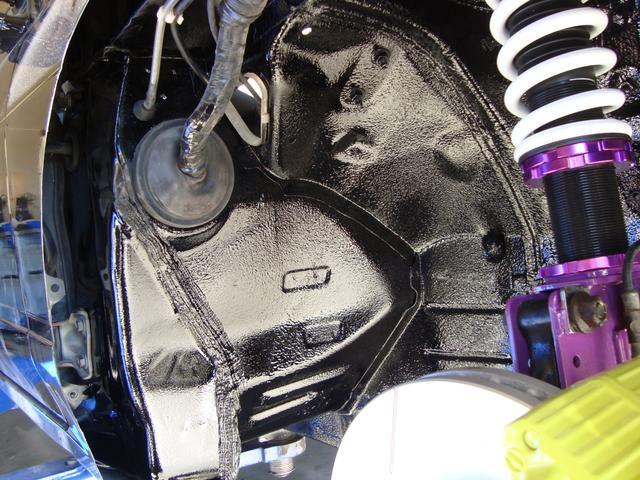 タイプX 純正5速 ターボ 修復歴無 新品ロケットバニーフルエアロ 新品ディアルマフラー 新品D-MAX車高調 新品前置きインタークーラー 新品パーツ多数 フルノーマルから自社制作(45枚目)