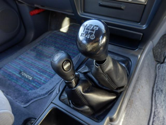 SSR-X ガソリンマニュアル5インチUPワンオーナー(13枚目)