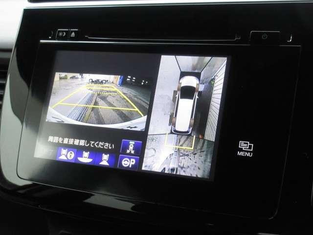 スパーダ・クールスピリット 純正ナビ CD DVD USB マルチカメラ  パーキングアシスト 後席モニタ ETC LEDヘッドライト ホンダセンシング サイドエアバッグ 2列目キャプテンシート 禁煙 ワンオーナー車(6枚目)