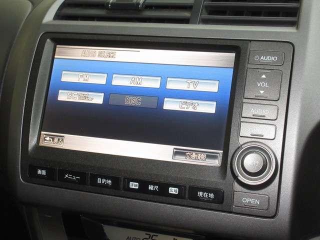 RSZ 純正HDDナビ ミュージックサーバー ETC リアカメラ キーレス ディスチャージヘッドライト フォグライト 純正17インチアルミホイール(6枚目)