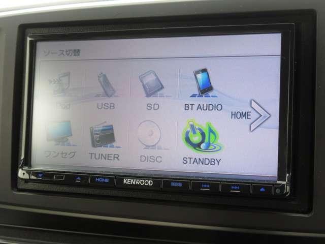 G・Lパッケージ ケンウッドメモリーナビ Bluetooth ワンセグ リアカメラ ETC スマートキー ディスチャージヘッドライト ドアバイザー 禁煙 ワンオーナー(5枚目)