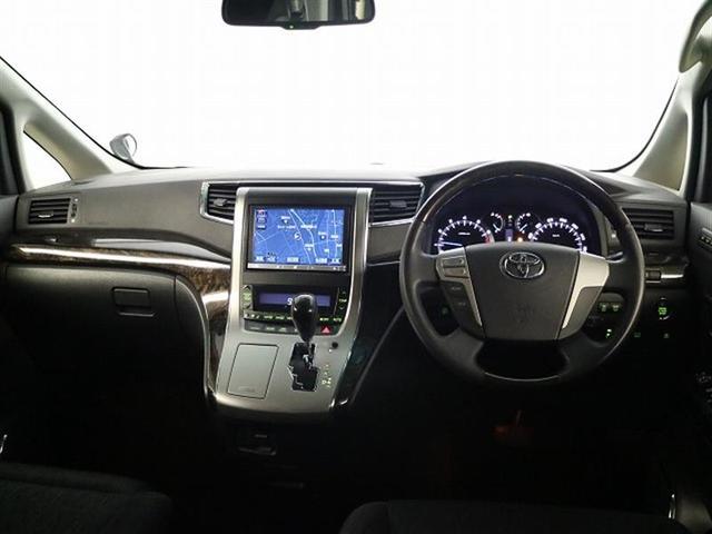 トヨタ ヴェルファイア 2.4Z Gエディション HDDナビ 後席モニター ETC