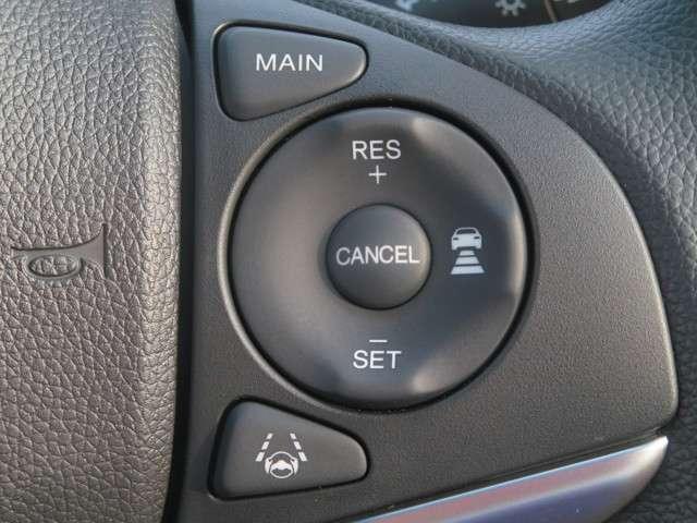 ☆Hondaセンシング機能の一つ、 『アダプティブ・クルーズコントロール』☆高速道路などでアクセルを操作しなくても設定した速度で走れるクルーズコントロールに車速と車間距離を制御する機能も追加☆