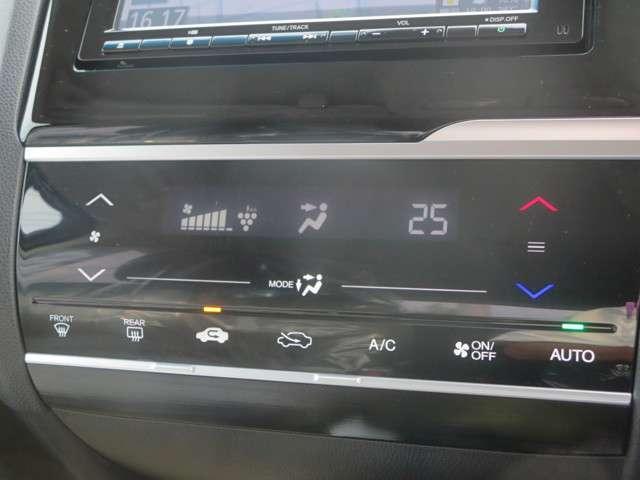 ☆プラズマクラスター機能付フルオートエアコン☆お好みの温度にすれば、内気・外気の切替、風量etc,をコントロールして車内を快適にしてくれます♪