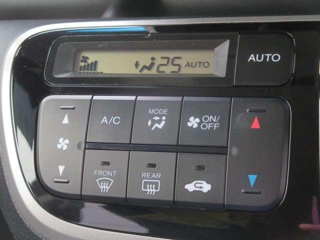 ☆フルオートエアコンは、お好みの温度にすれば、内気・外気の切替、風量etc,をコントロールして車内を快適にしてくれます☆