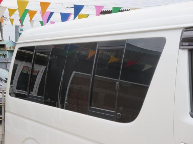 トヨタ ハイエースワゴン GL 社外エアロ&アルミ ナビTV フリップダウン 自動ドア