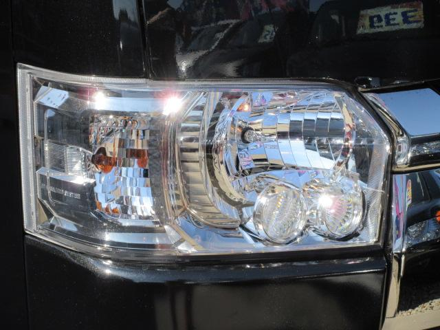 トヨタ ハイエースバン スーパーGLダークプライム 両側自動ドア モデリスタエアロ