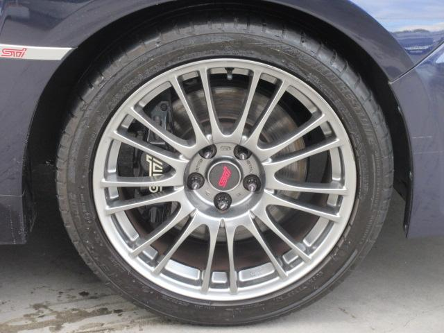 WRX STi 6速MT 茶本革 大型Rスポ ブレンボ ナビ(9枚目)