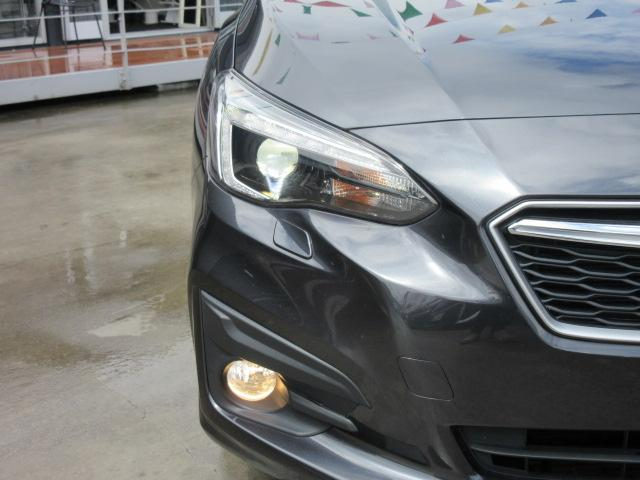 1.6i-Lアイサイト 4WD・カロッツェリアナビ・CD・DVD・フルセグTV・スマートキー・Pスタート・純正16AW・ETC・リアコーナーセンサー・レーダークルーズ・革ステ・パドルシフト・リアスポイラー・LEDライトフォグ(9枚目)