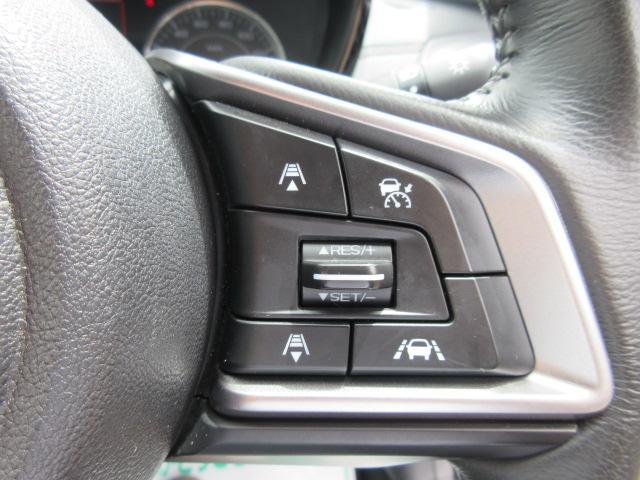 1.6i-Lアイサイト 4WD・カロッツェリアナビ・CD・DVD・フルセグTV・スマートキー・Pスタート・純正16AW・ETC・リアコーナーセンサー・レーダークルーズ・革ステ・パドルシフト・リアスポイラー・LEDライトフォグ(18枚目)