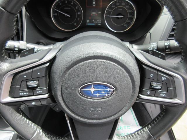 1.6i-Lアイサイト 4WD・カロッツェリアナビ・CD・DVD・フルセグTV・スマートキー・Pスタート・純正16AW・ETC・リアコーナーセンサー・レーダークルーズ・革ステ・パドルシフト・リアスポイラー・LEDライトフォグ(19枚目)