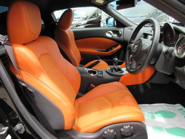 バージョンST 6速MT・SSR19アルミ・テイン車高調・ニスモマフラー・ワンオーナー・オレンジハーフレザーシート・シートヒーター・・スモークフイルム・ニスモタワーバー・ETC・・3連メーター・純正OPリアスポイラー(3枚目)