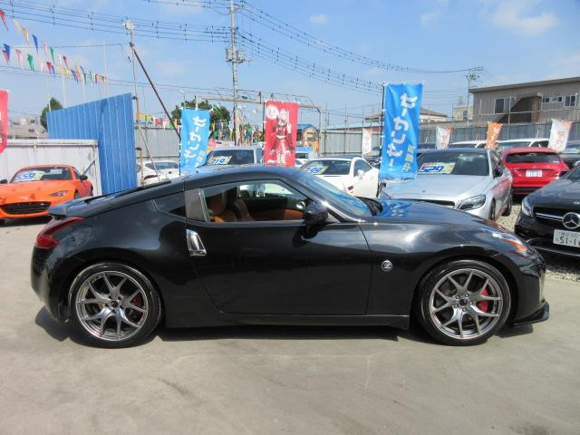 バージョンST 6速MT・SSR19アルミ・テイン車高調・ニスモマフラー・ワンオーナー・オレンジハーフレザーシート・シートヒーター・・スモークフイルム・ニスモタワーバー・ETC・・3連メーター・純正OPリアスポイラー(7枚目)