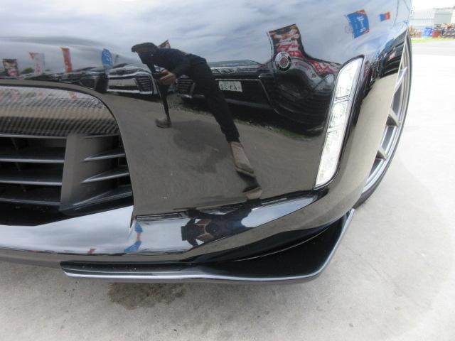 バージョンST 6速MT・SSR19アルミ・テイン車高調・ニスモマフラー・ワンオーナー・オレンジハーフレザーシート・シートヒーター・・スモークフイルム・ニスモタワーバー・ETC・・3連メーター・純正OPリアスポイラー(9枚目)